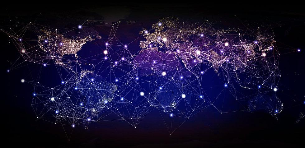 global-network-connecting-the-globe-glob