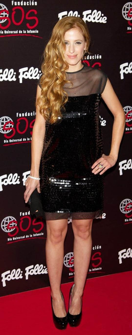 Sara Ballesteros at Folli Follie´s Event.