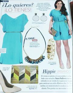 Sara Ballesteros inspires trends (Love Magazine,/ Spain, 2014).