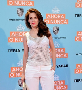 Sara Ballesteros attends 'Ahora o Nunca' premiere  (Photo by Europa Press/Europa Press via Getty Images)