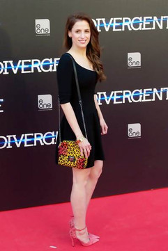 Sara Ballesteros.  Divergent Premiere.