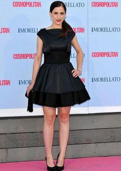 Sara Ballesteros attends Cosmpolitan Fragrance Awards at the Circulo de Bellas Artes.
