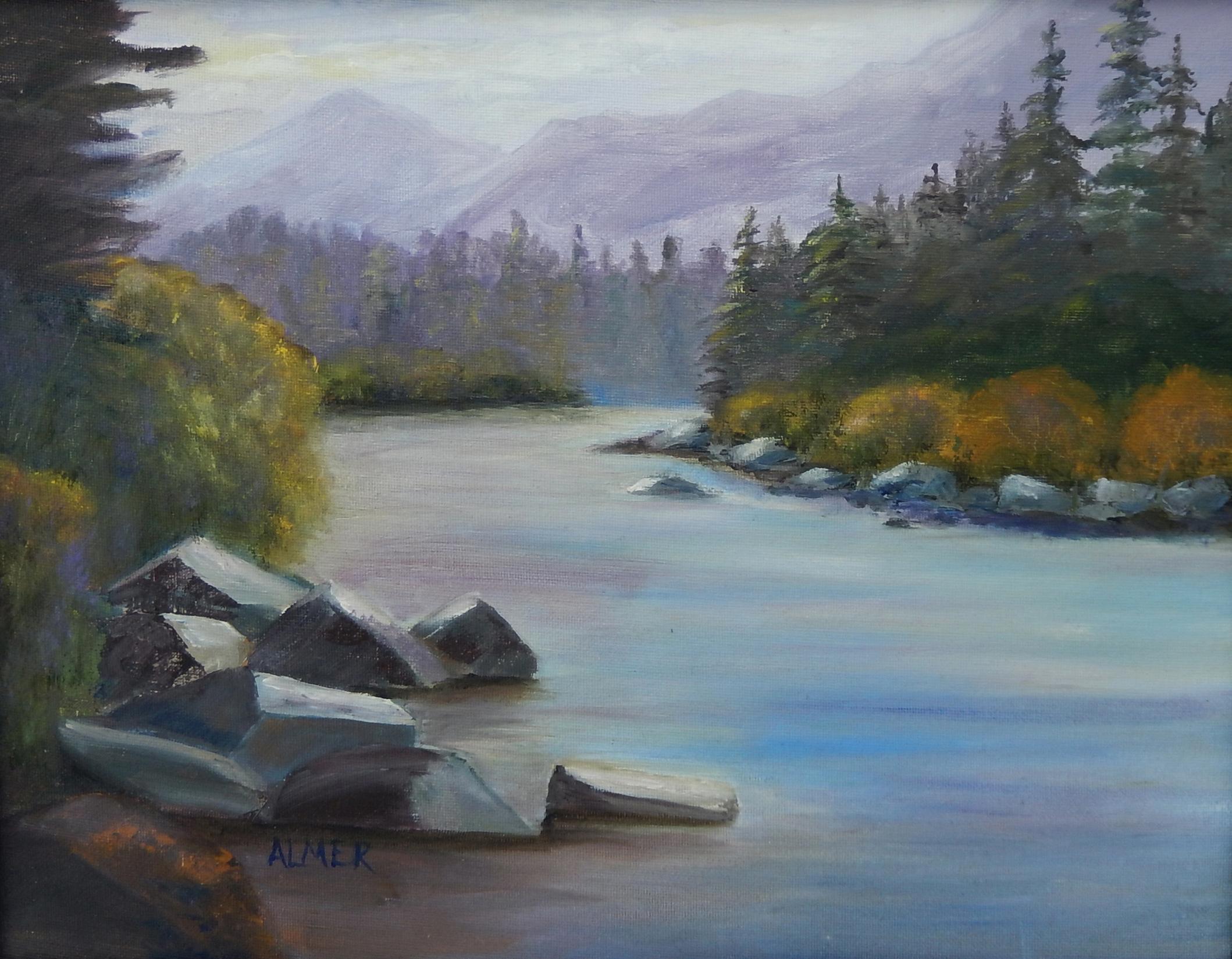 ALMER - 3 - Dawn on the Blackfoot