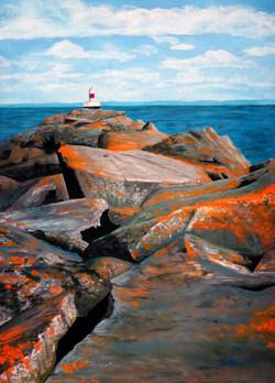 Presque Isle Harbor Light