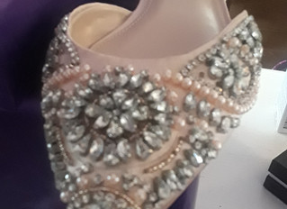 Now, THAT is a wedding shoe!!!!