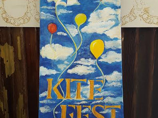 Kite Fest Painting by Cindy Cashion!