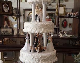 Wedding Homecoming Dinner Cake