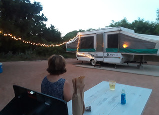 What about a camping honeymoon?