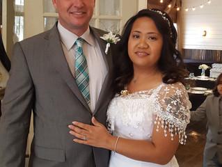 Congratulations, Lorie & Keith!  Woohoo!