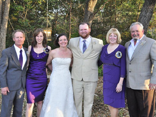 A wonderful wedding memory!...Kelly & Sammy!