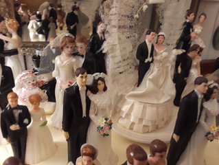 The night the brides and grooms REALLY came to life!