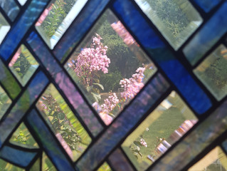 Stained glass beauty...it's summertime!