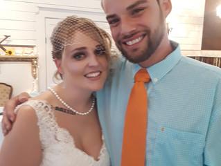 Say Hello to Katie & Daniel!  Caliber Oak's Newest Bride and Groom!