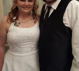 Mr. & Mrs. Nathan Kennett!!!Woohooo!