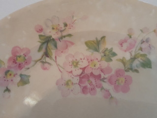 An elegant air of Richmond, Virginia surrounds this plate...