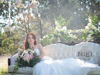 Such a beautiful, ethereal bridal image...