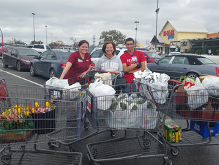 HEB Belton gets mauled by WHD shopping spree!