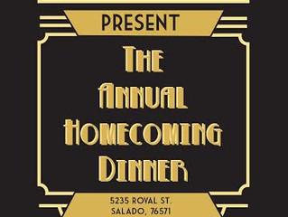 Wedding Homecoming Dinner:  1/24/16!