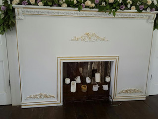 First step on customizing the chapel mantle!