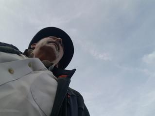 A photo of Cap looking over the Kingdom of Caliber Oak?