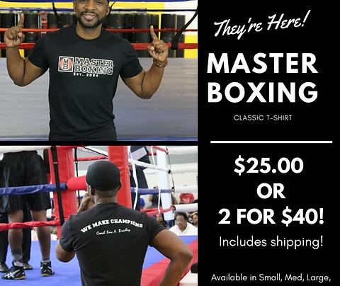 Master Boxing Classic T-Shirt