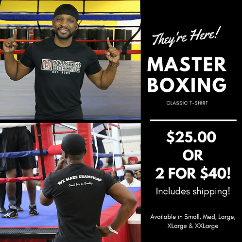 Master Boxing Classic T-Shirt