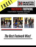 cover MASTER BOXING FOOTWORK DRILL 4 WEE