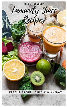 Cover for  Immunity Juice Recipes Eric A