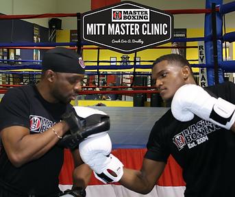 boxing mitt and pad training