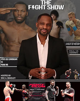 eric a bradley the fight show cunningham