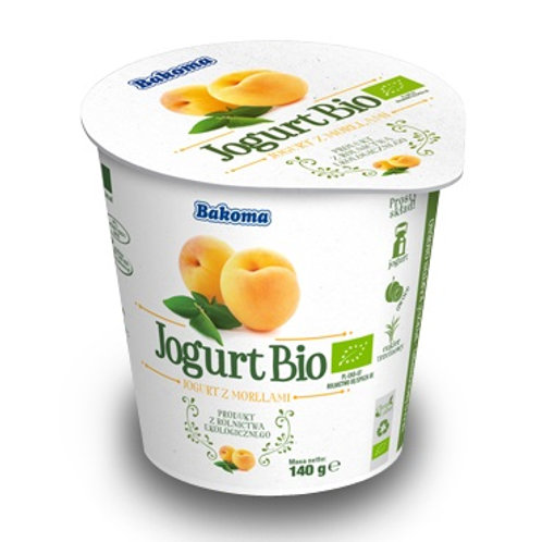 Jogurt Bio BAKOMA morela 140g