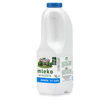 Mleko Piątnica 2% 1l