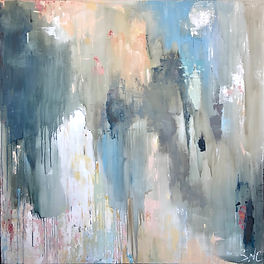 Paris II - 48%22 x 48%22 - Commission -