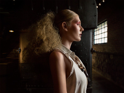 Model:Daniela Guerrero Mua:Karen Villamar Retouch: Mariuxi Villacres Film: Amon Film