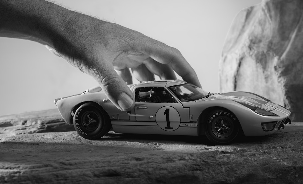 Fotografía a escala Ford Shelby GT40 1966