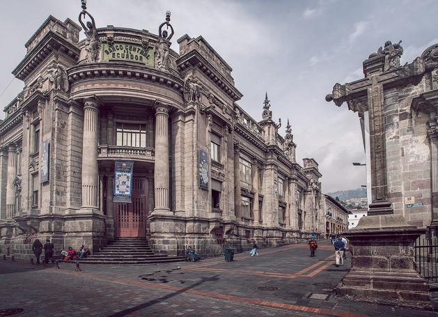 Antiguo Banco Central • Quito