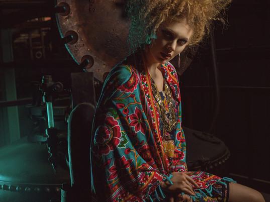 Model:Daniela Guerrero Mua:Karen Villamar Film: Amon Film Retouch: Diego Valverde