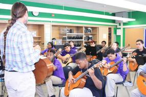 Brad Richter visits Chicago Tech Academy, 2017.