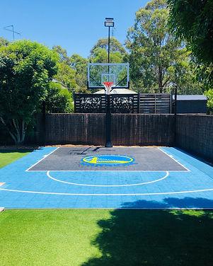 Tile Basketball Court