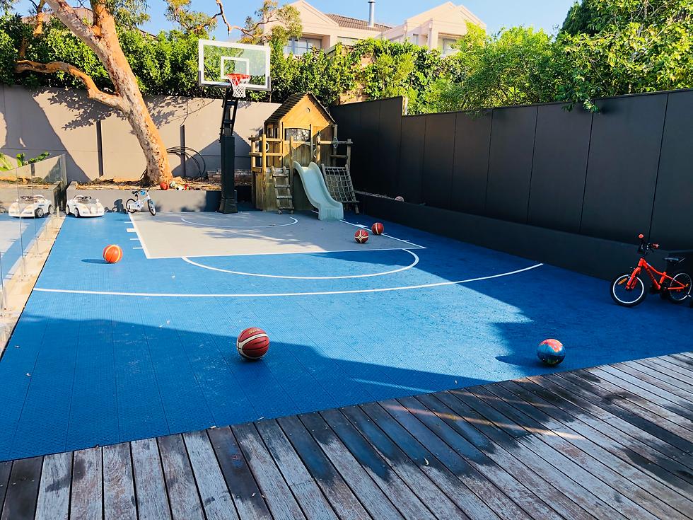Playground and Basketball Court
