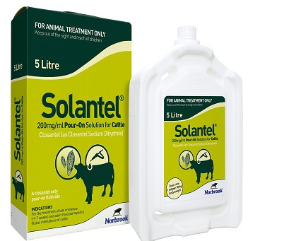 Solantel Pour On - The First Pour On Flukicide Is Here!