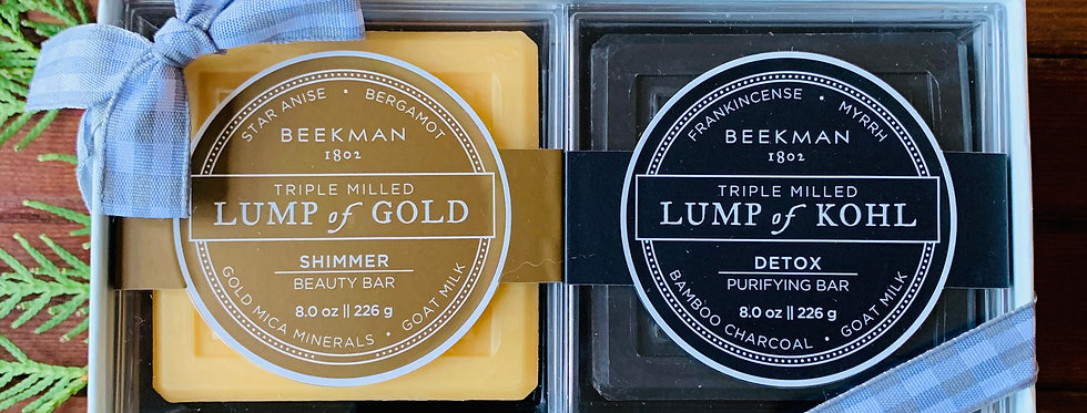 Beekman Lump of Gold/Lump of Kohl Gift Set