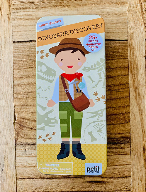Dinosaur Discovery Magnetic Dress Up