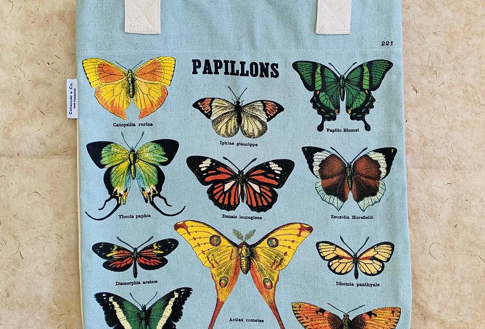 Cavallini Butterflies Tote