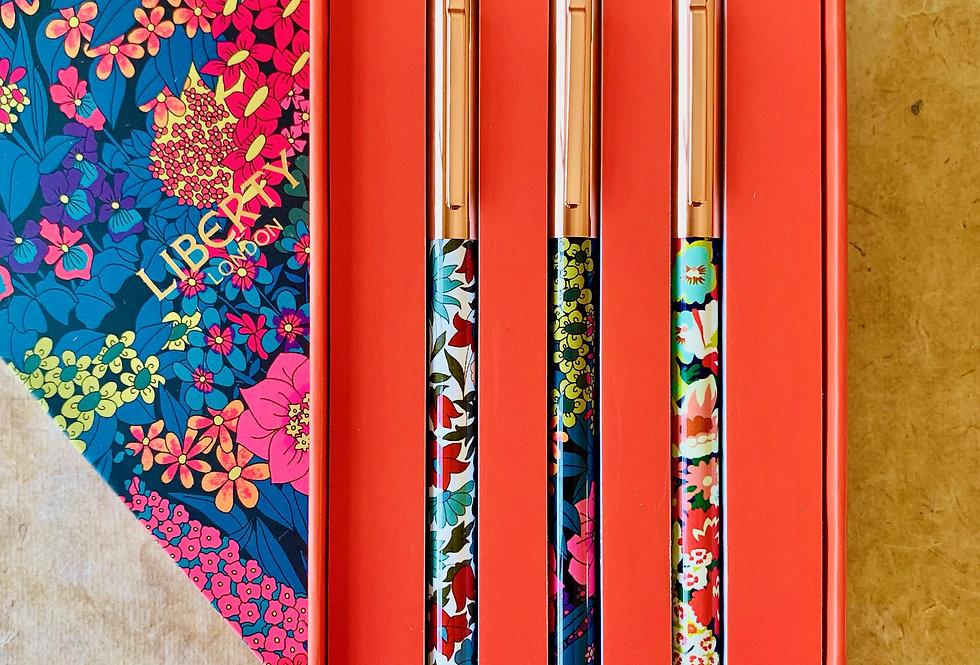 Liberty London Floral Pen Set
