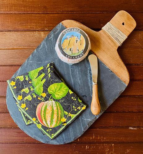 Slate & Wood Board