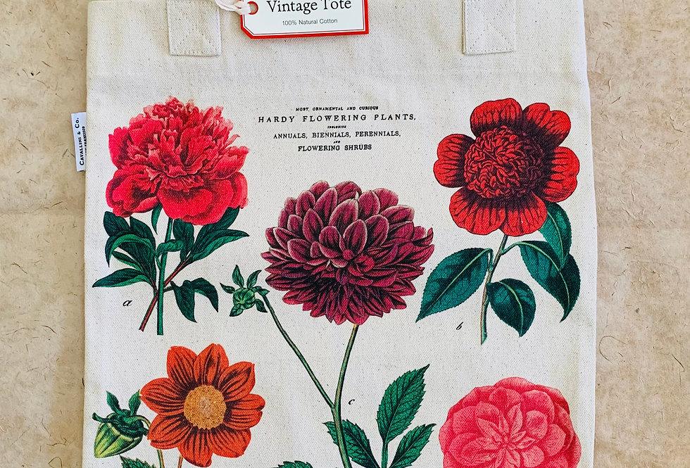 Cavallini Botanica Vintage Tote