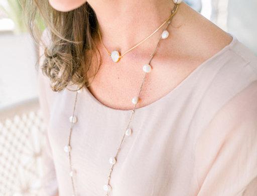 """19"""" Goldbug Necklace by Grit & Grace"""