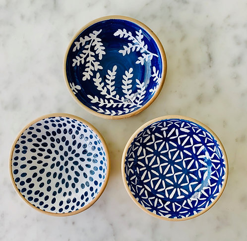 Blue & White Dipping Dishes
