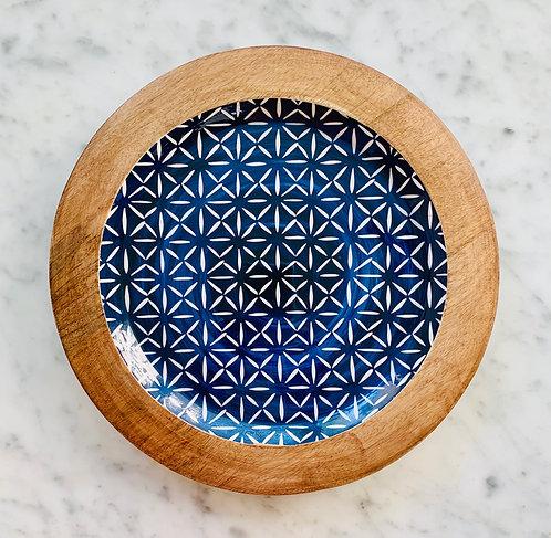 Indigo Blue Tray - Medium